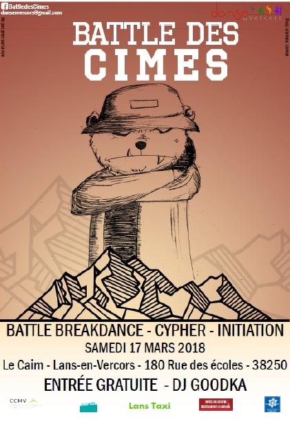 Battle Des Cimes – Samedi 17 Mars 2018
