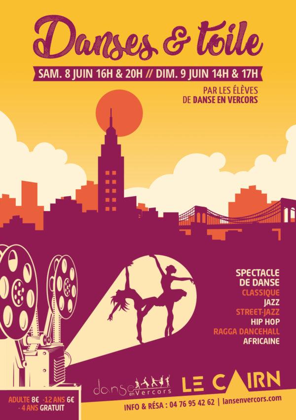 Spectacle De Fin D'année «Danses & Toile»